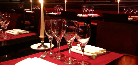restaurant saint valentin paris Capucine Café
